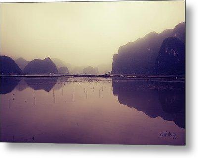 Ninh Binh Metal Print by Joseph Westrupp