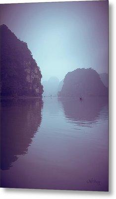 Ninh Binh River Metal Print by Joseph Westrupp