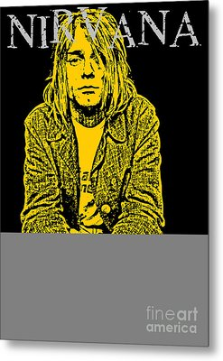 Nirvana No.07 Metal Print by Caio Caldas
