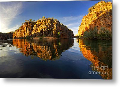 Metal Print featuring the photograph Nitimiluk by Bill Robinson