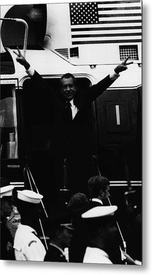 Nixon Presidency.   Former Us President Metal Print by Everett