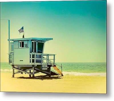 Metal Print featuring the photograph No 16 - Wish You Were Here by Douglas MooreZart