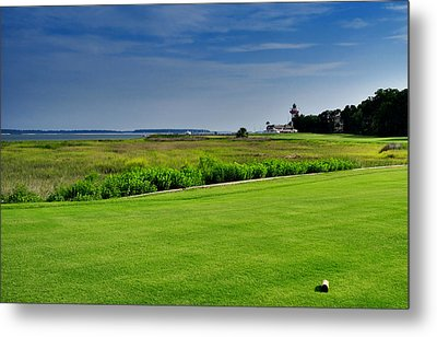 No. 18 At Harbour Town Golf Links Metal Print by Lyle  Huisken