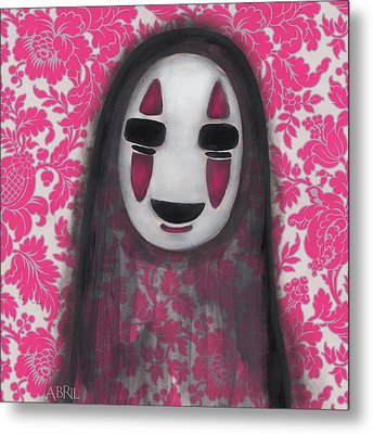 No Face  Metal Print by Abril Andrade Griffith
