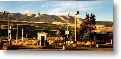 Metal Print featuring the photograph No Gas... by Albert Seger