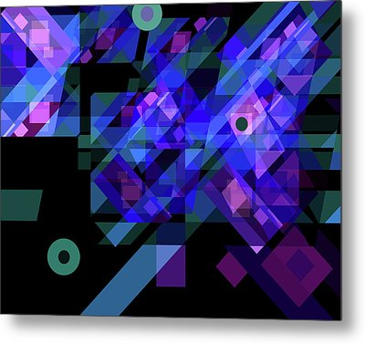 No Illusions Metal Print by Lynda Lehmann