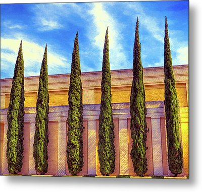 Metal Print featuring the digital art No Ordinary Days by Wendy J St Christopher