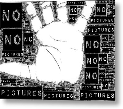 No Pictures Metal Print