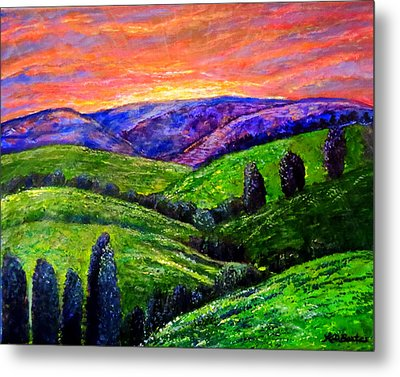 No Place Like The Hills Of Tennessee Metal Print by Kimberlee Baxter