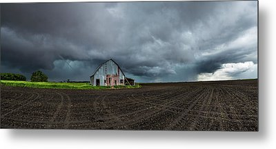 Metal Print featuring the photograph No Shelter Here by Aaron J Groen