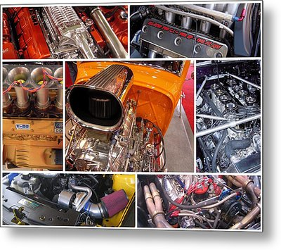 No Such Thing As Too Much Power Metal Print by Don Struke