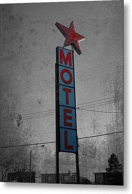 No Tell Motel Metal Print by Jerry Cordeiro