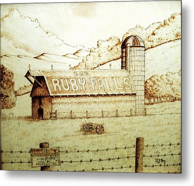 No Trespassing Metal Print by Freddy  Smith