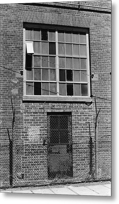 No Visitors Metal Print