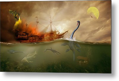 No Way Out Metal Print by Surreal Photomanipulation