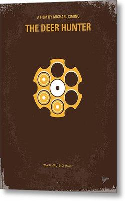 No019 My Deerhunter Minimal Movie Poster Metal Print by Chungkong Art