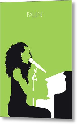 No066 My Alicia Keys Minimal Music Poster Metal Print by Chungkong Art