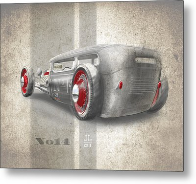 No.14 Metal Print by Jeremy Lacy