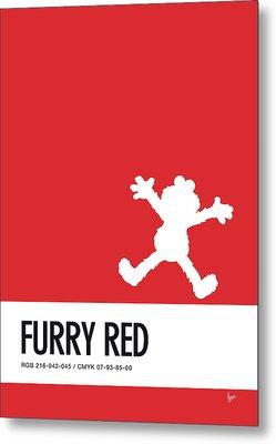 No30 My Minimal Color Code Poster Elmo Metal Print by Chungkong Art