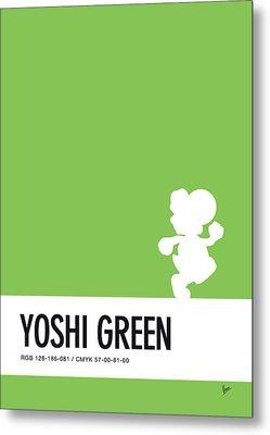 No36 My Minimal Color Code Poster Yoshi Metal Print by Chungkong Art