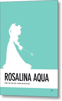 No39 My Minimal Color Code Poster Rosalina Metal Print by Chungkong Art