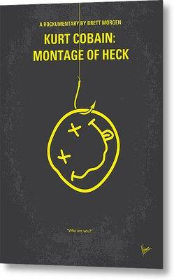 No448 My Montage Of Heck Minimal Movie Poster Metal Print by Chungkong Art