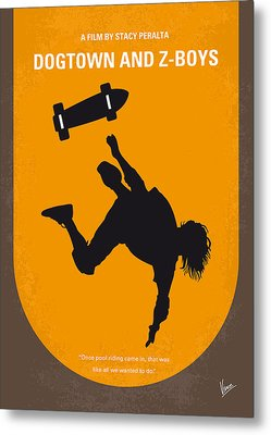 No450 My Dogtown And Z-boys Minimal Movie Poster Metal Print