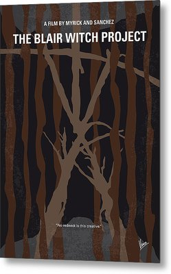 No476 My The Blair Witch Project Minimal Movie Poster Metal Print