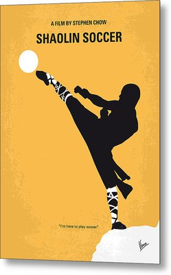 No480 My Shaolin Soccer Minimal Movie Poster Metal Print by Chungkong Art