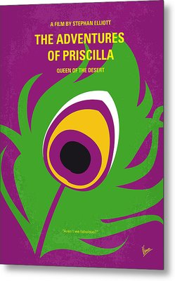 No498 My Priscilla Queen Of The Desert Minimal Movie Poster Metal Print by Chungkong Art