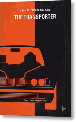 No552 My The Transporter Minimal Movie Poster Metal Print