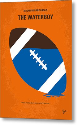 No580 My The Waterboy Minimal Movie Poster Metal Print by Chungkong Art