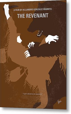 No623 My The Revenant Minimal Movie Poster Metal Print