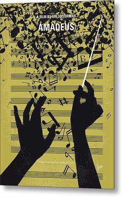 No725 My Amadeus Minimal Movie Poster Metal Print by Chungkong Art