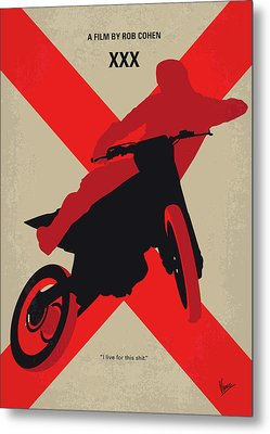 No728 My Xxx Minimal Movie Poster Metal Print