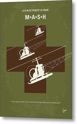 No733 My Mash Minimal Movie Poster Metal Print by Chungkong Art