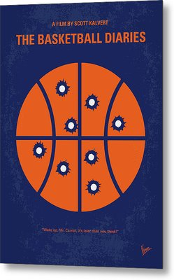 No782 My The Basketball Diaries Minimal Movie Poster Metal Print by Chungkong Art