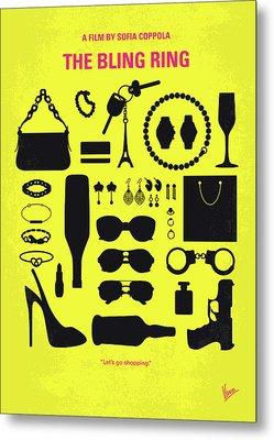 No784 My The Bling Ring Minimal Movie Poster Metal Print by Chungkong Art