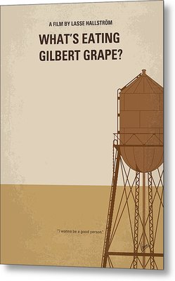 No795 My Whats Eating Gilbert Grape Minimal Movie Poster Metal Print