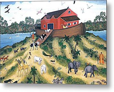 Noah's Ark Metal Print by Linda Mears