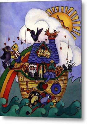 Noah's Ark Metal Print by Patricia Halstead
