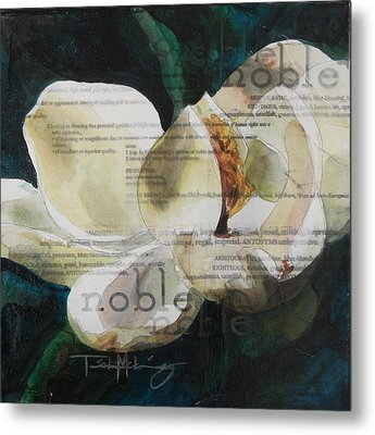 Noble - Magnolia Metal Print by Trish McKinney