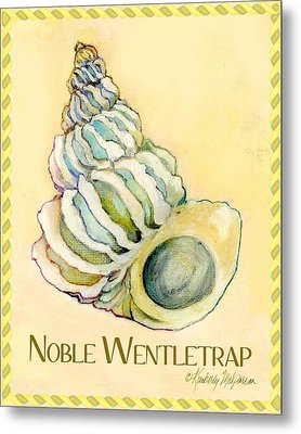 Noble Wentletrap Metal Print