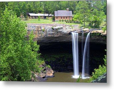 Noccolula Falls Gadsden Alabama Metal Print
