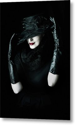 Noir Metal Print by Cambion Art