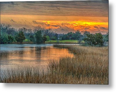 Noisette Sunrise Metal Print by Donnie Smith