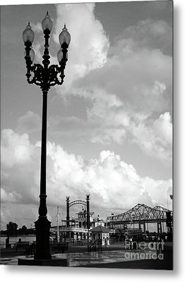 Nola Riverwalk Metal Print