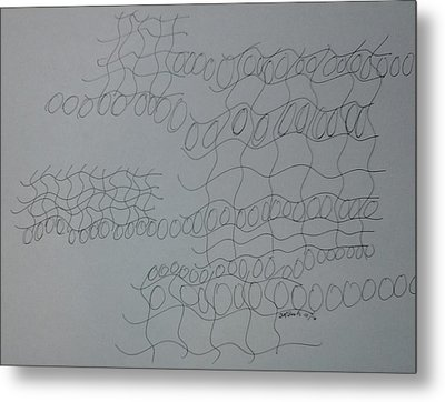 Non-objective Design102 Metal Print