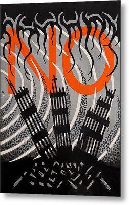 No...never Again Metal Print by Derek Ian Kemp
