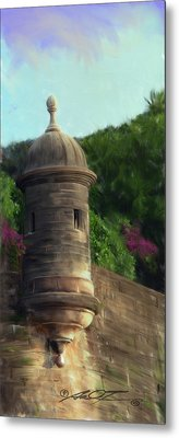 Norma's Pr Tower Metal Print